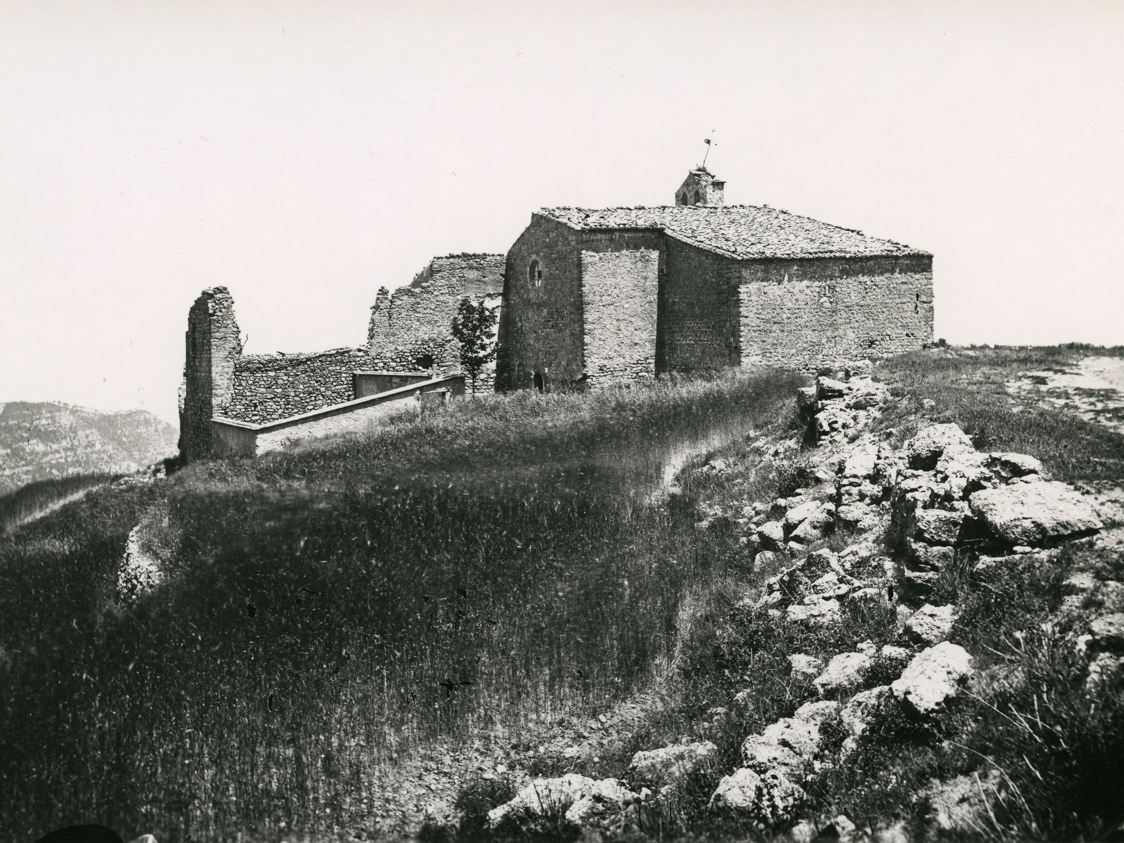Santa Cecilia in the late 19th century